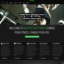 Abilities-HIIT Website El Paso Texas