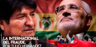 Fraude Electoral Bolivia