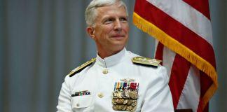 El almirante de la Marina, Craig S. Faller, comandante del Comando Sur de Estados Unidos (Southcom),