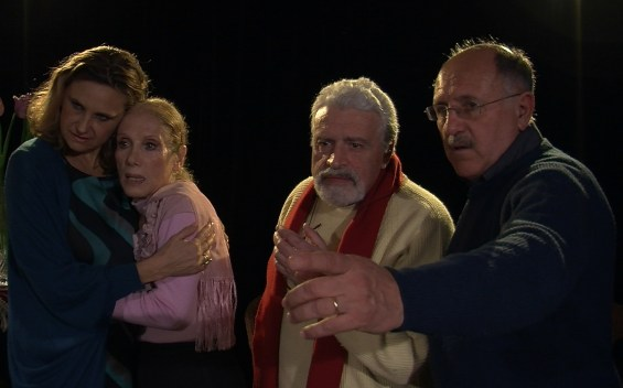Cristina Fondi,Violetta Chiarini, Nicola Caccavelli e Alberto Patelli