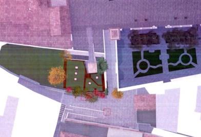 giardino di piazza Cesare Battisti