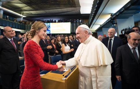 Papa Francesco alla sede della FAO 03