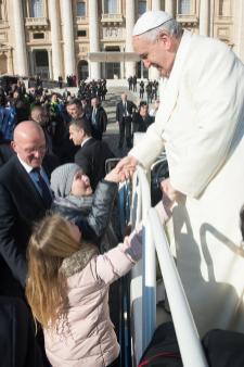 Vaticano, 18 febbraio udienza generale di Papa Francesco 02