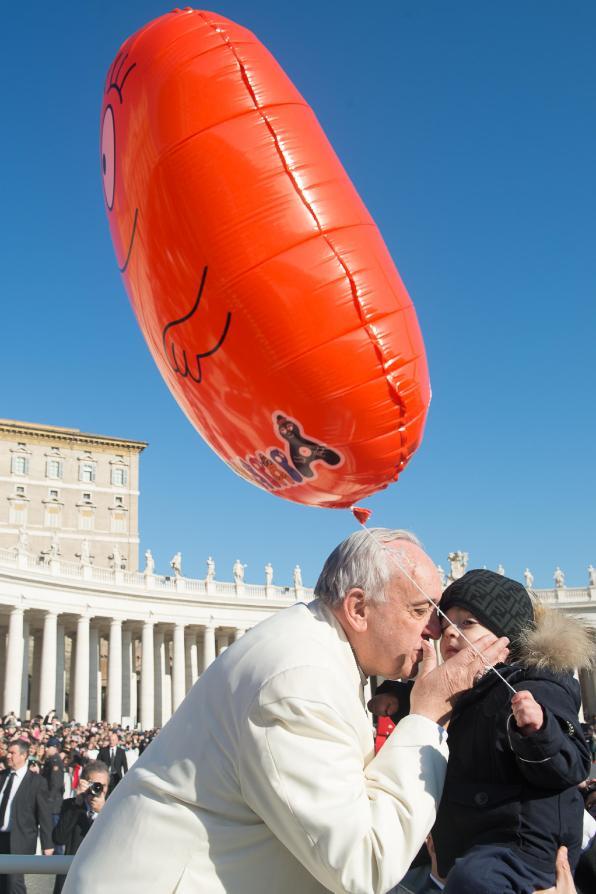 Vaticano, 18 febbraio udienza generale di Papa Francesco 06