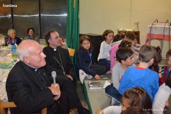 Mons Domenico Pompili a San Michele Arcangelo (Cena) 29 settembe 2015 foto Massimo Renzi 08