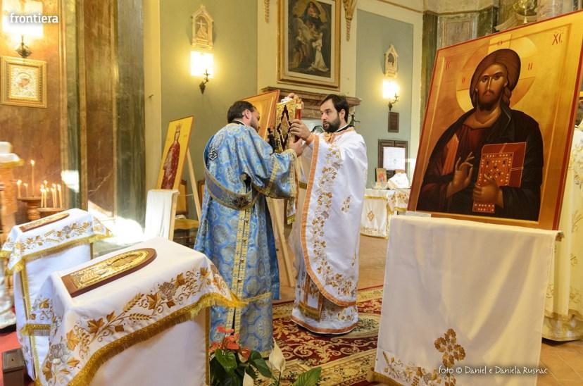 messa in onore del Santo Patrone della chiessa ortodossa Rieti-8