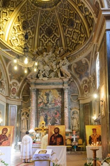 messa in onore del Santo Patrone della chiessa ortodossa Rieti-9