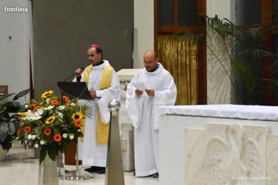 Incontro del Vescovo Domenico Pompili con i volontari della Diocesi foto Massimo Renzi 01