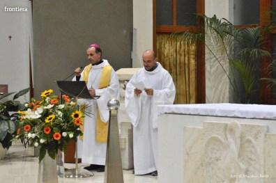 Incontro del Vescovo Domenico Pompili con i volontari della Diocesi foto Massimo Renzi 03