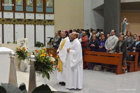 Incontro del Vescovo Domenico Pompili con i volontari della Diocesi foto Massimo Renzi 18
