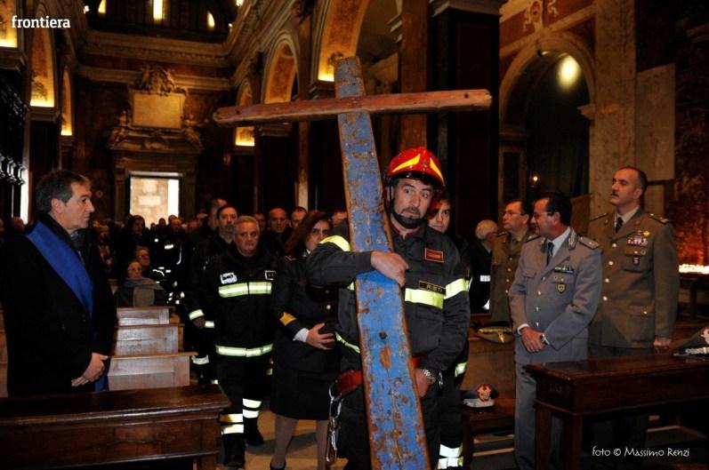 Santa Barbara nel Mondo Messa 4 dicembre vigili del fuoco foto Massimo Renzi 06