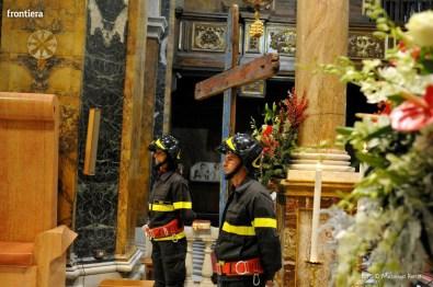Santa Barbara nel Mondo Messa 4 dicembre vigili del fuoco foto Massimo Renzi 18