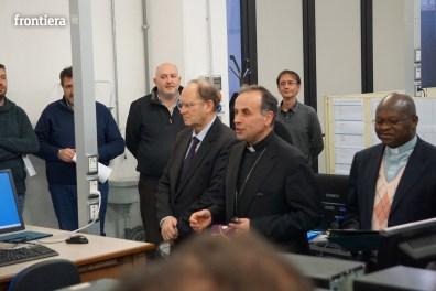 Visita del Vescovo Domenico in Telpress 17 marzo 2016 foto Fabrizi 17