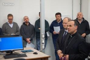 Visita del Vescovo Domenico in Telpress 17 marzo 2016 foto Fabrizi 18