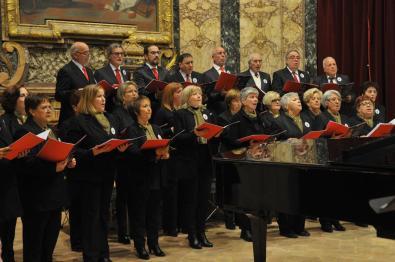 Coro Cai Concerto di Natale Auditorium Varrone [21.12.2016] foto Renzi MAS_7034