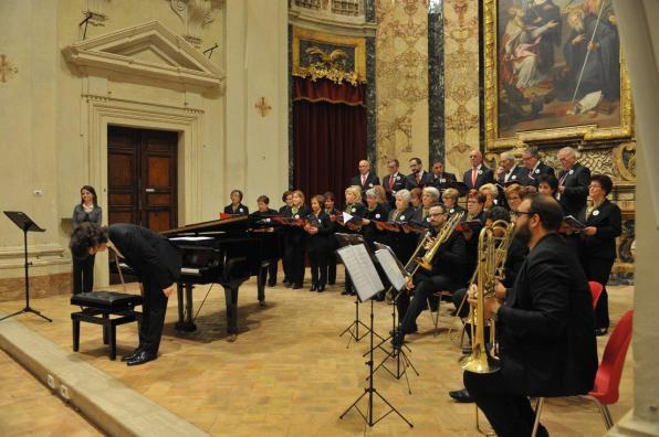 Coro Cai Concerto di Natale Auditorium Varrone [21.12.2016] foto Renzi MAS_7074