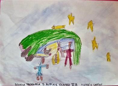 Il presepe di Francesco - Bambini di Santa Rufina 07