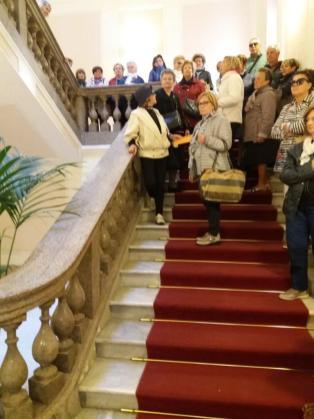 scalinata PAlazzo Dosi