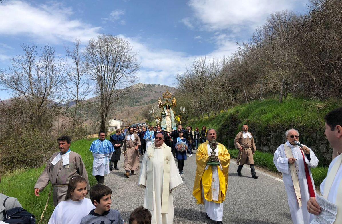 [08.04.2018] Cantalice, festa della Madonna delle Grazie 01