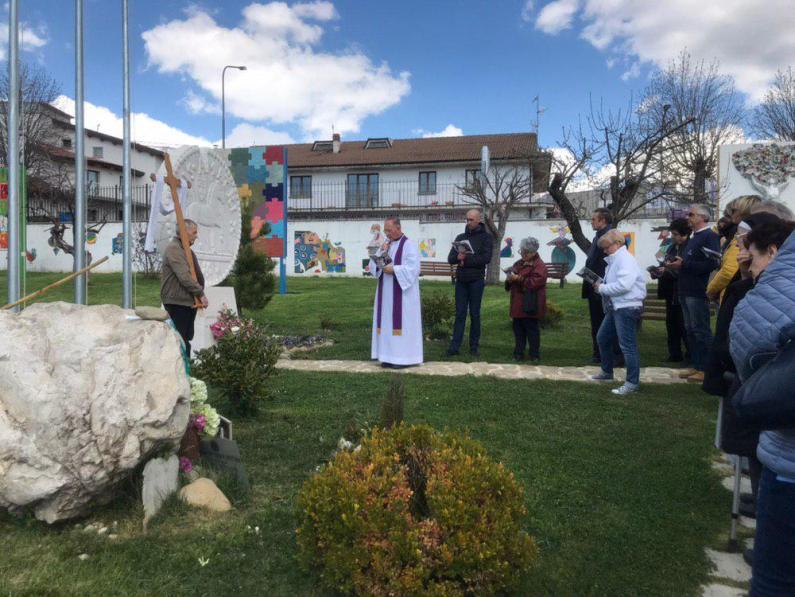 [19.04.2019] Via Crucis Amatrice photo_2019-04-19_16-15-21