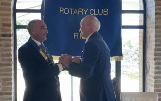 Passaggio Presidenza Rotary e Sabino d'Oro 2020 foto 1