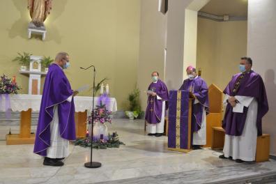 [28.11.2020] Ingresso nella parrocchia del Sacro Cuore di don Francesco Salvi DSC_3169