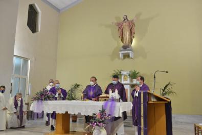 [28.11.2020] Ingresso nella parrocchia del Sacro Cuore di don Francesco Salvi DSC_3234