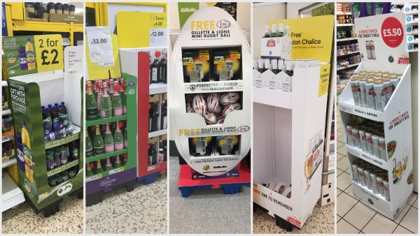 Sporting Events Promotional Point of Sale