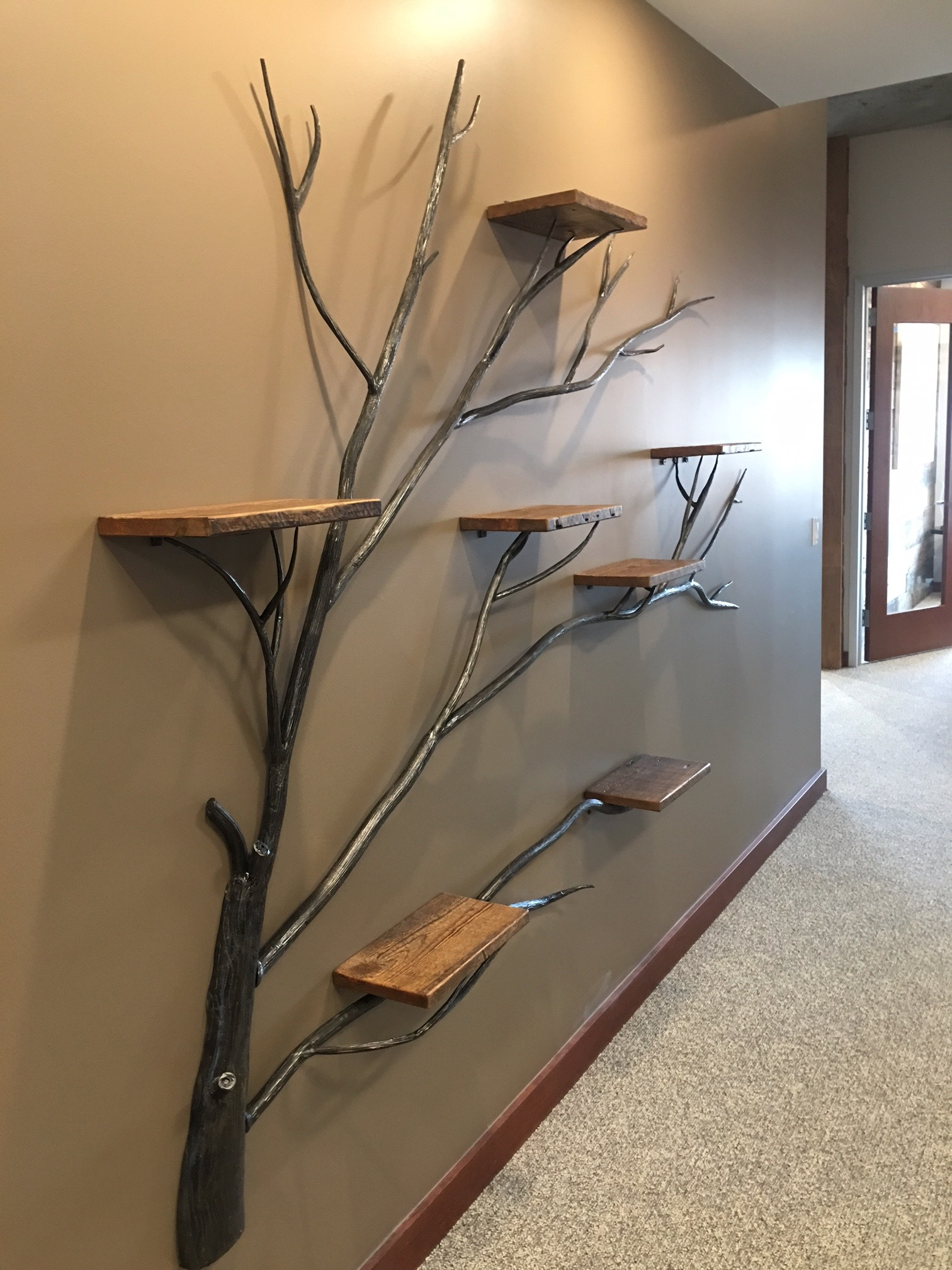 Tree Of Life Wall Shelf Frontier Iron Works