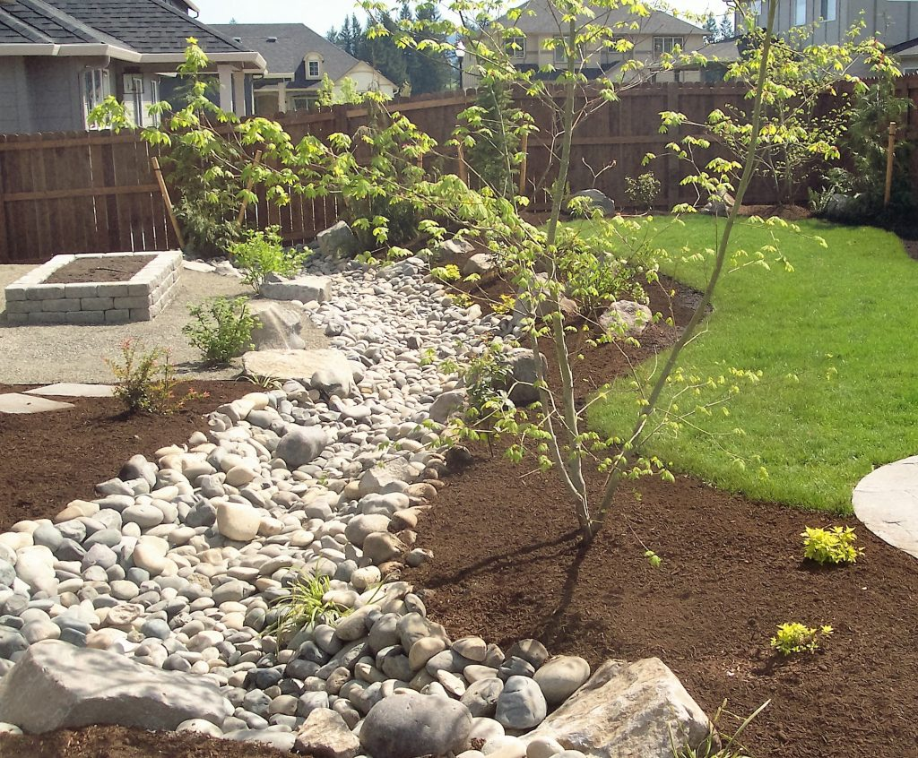 Solving Water Problems With Dry Creek Beds