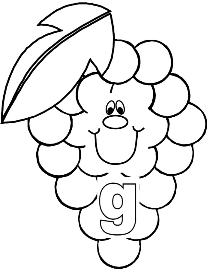 grape vine coloring page free coloring pages