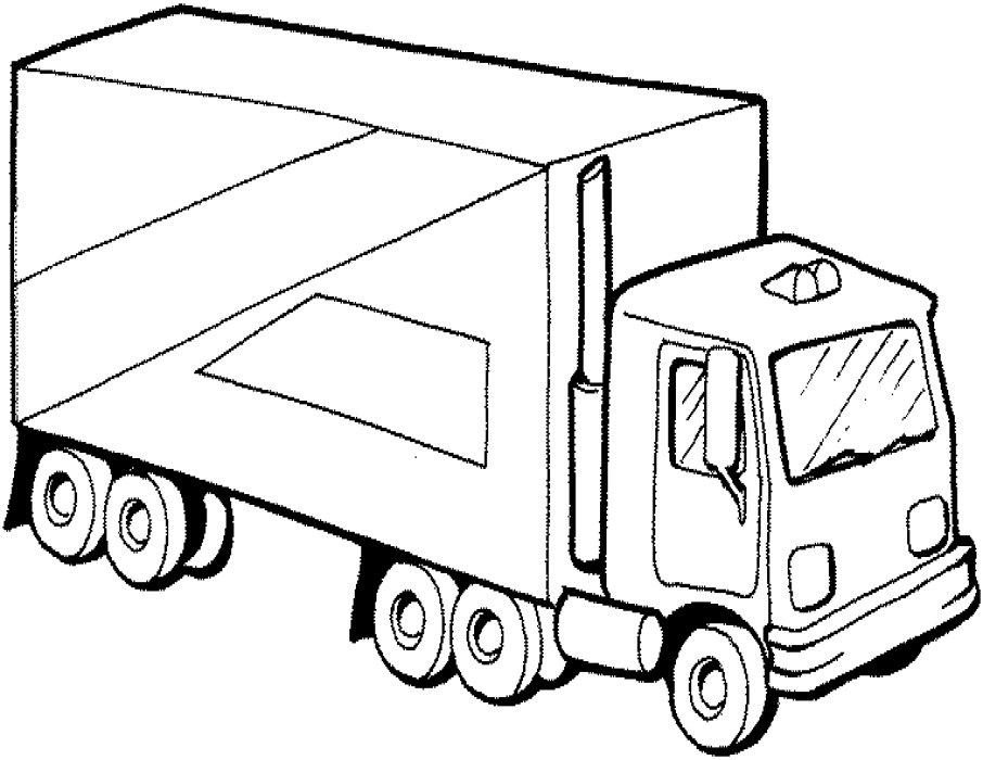 pics photos semi truck renault semi truck coloring page