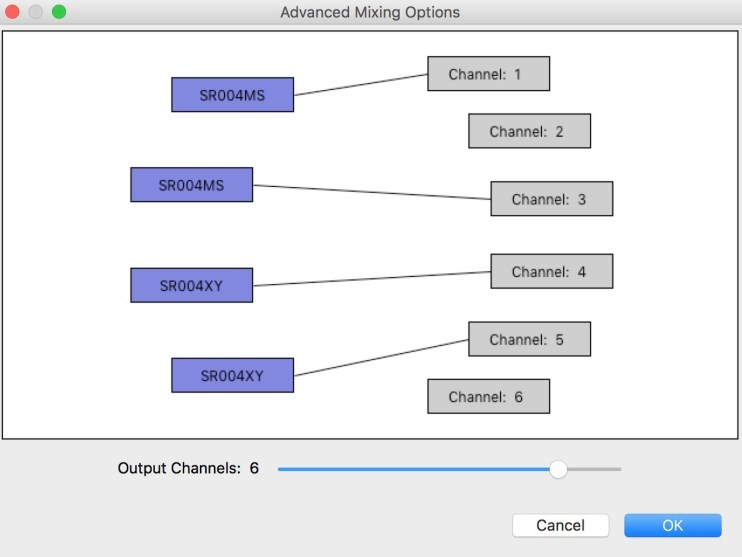 Audacity Channel Options 2
