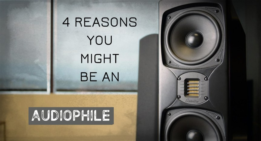 4 Reasons You Might Be an Audiophile