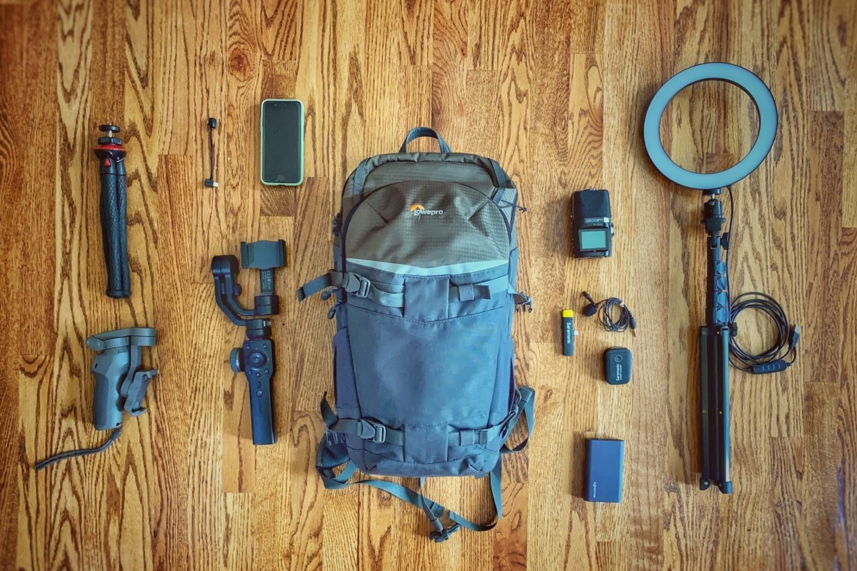 Gear for Nature Vlogging Web