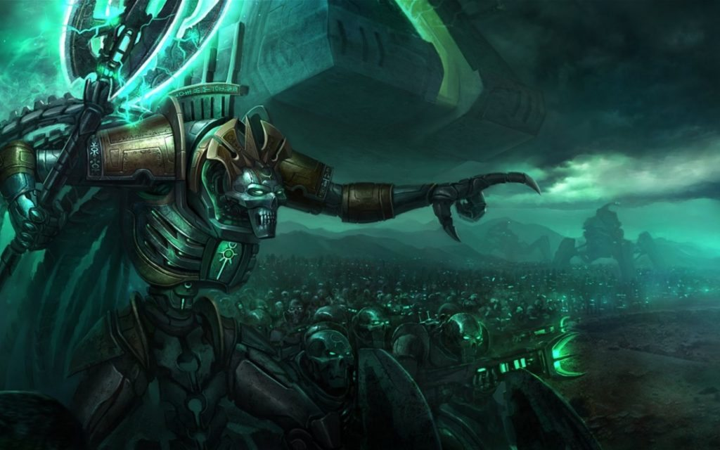 Necron Overview Frontline Gaming