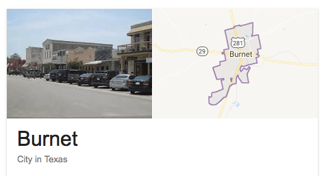 Burnet / Llano County Homes for Sale