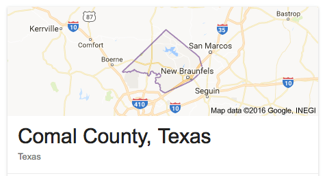 Comal / Guadalupe / Gonzales Homes for Sale