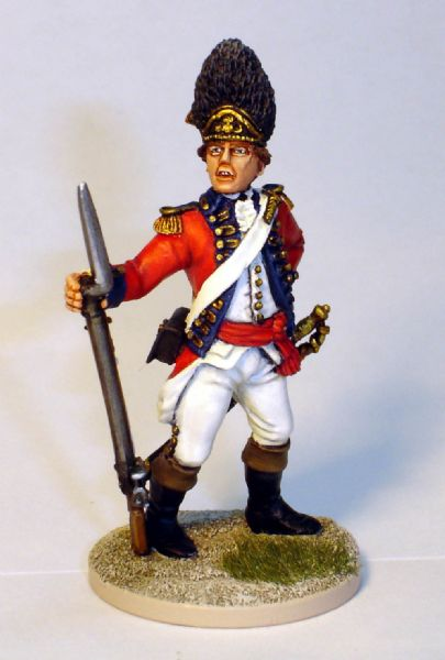 40mm AWI British And Hessian Gallery Front Rank