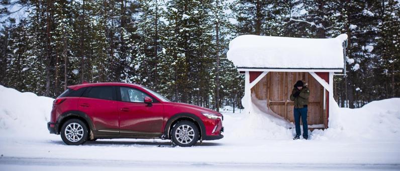 Mazda CX-3 AWD Arctic Drive 2016 07