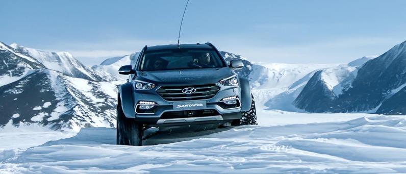 Hyundai Santa Fe 2017 Arctic Adventure 14