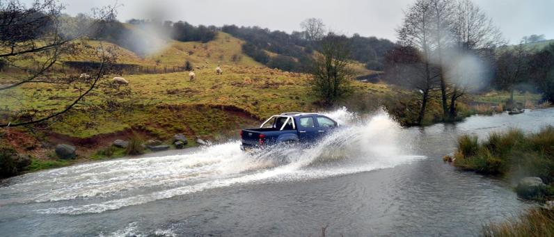 Rivers mean nothing to the Isuzu D-Max AT35