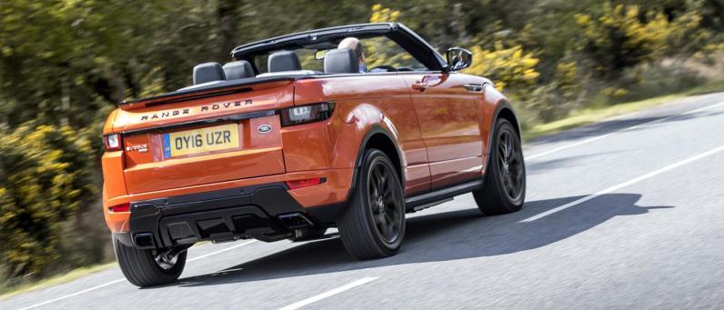 Convertible SUV 2017 Range Rover Evoque 01