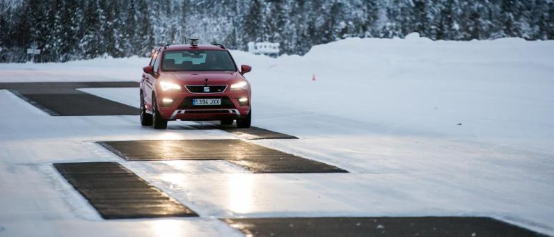 SEAT Ateca FR 2018 Winter Testing 02