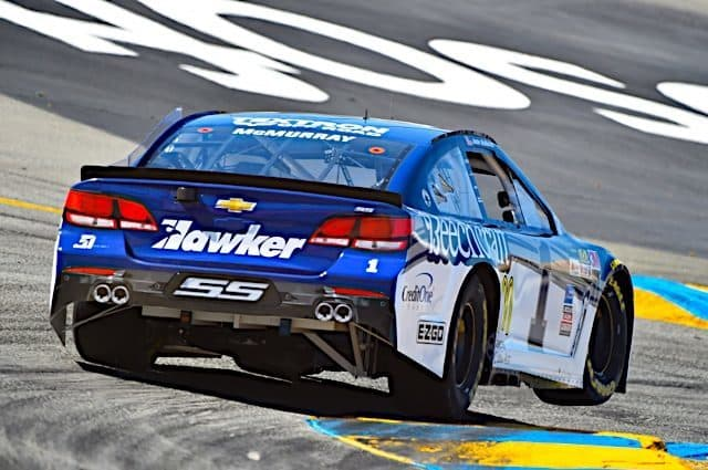 Jamie McMurray Records Top 10 After 'Uneventful' Race At Sonoma