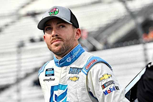 Ross Chastain Tops Speed Charts in Las Vegas Xfinity Practice