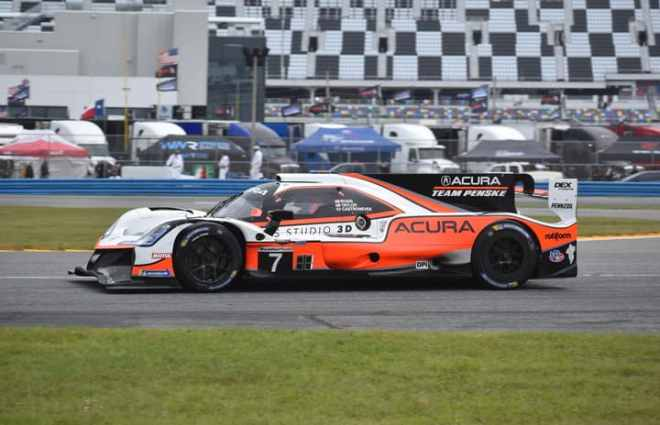 Acura Team Penske's Ricky Taylor Fastest in Early WeatherTech Practice