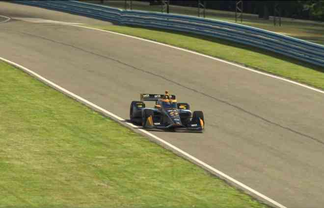 Sage Karam Wins IndyCar iRacing Challenge Series Opener at Watkins Glen
