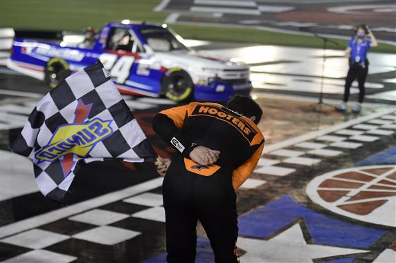 Cup Driver Bounty Boosts Truck Series' Return at Charlotte