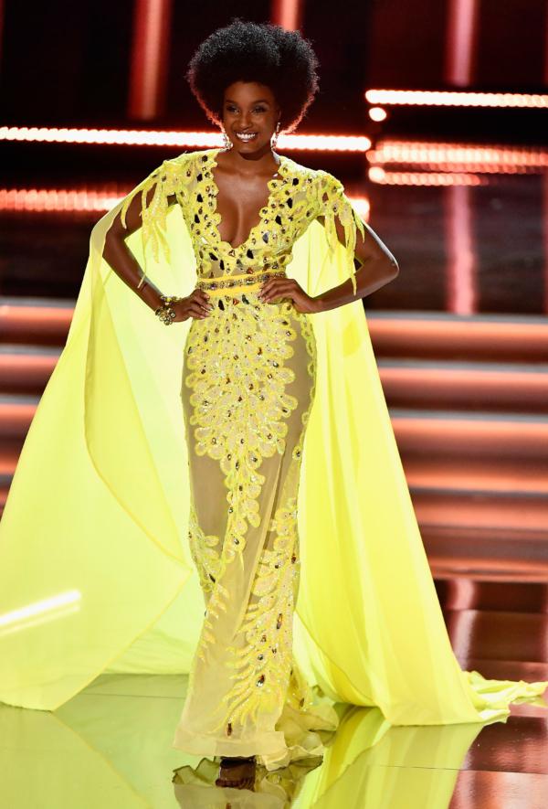 Miss Jamaica Davina Bennett Evening Wear